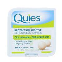 QUIES PROTECTION AUDITIVE CIRE NATURELLE 8 PAIRES à MONTPEZAT-SOUS-BAUZON