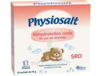 PHYSIOSALT REHYDRATATION ORALE SRO, bt 10 à MONTPEZAT-SOUS-BAUZON