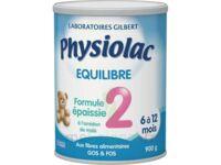 Equilibre Formule épaissie 2 - lait infantile 2ème âge  - 900g à MONTPEZAT-SOUS-BAUZON