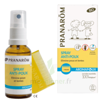 Pranarôm Aromapoux Bio Spray anti-poux 30ml+peigne à MONTPEZAT-SOUS-BAUZON