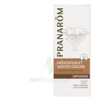 PRANAROM DIFFUSION Huile essentielle pour diffuseur MEDITATION ET SAINTES ODEURS à MONTPEZAT-SOUS-BAUZON
