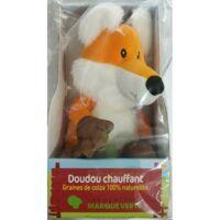 MARQUE VERTE Bouillotte peluche graines renard roux à MONTPEZAT-SOUS-BAUZON