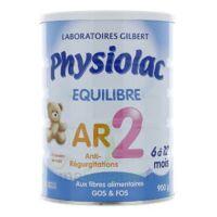 Physiolac Equilibre AR 2 Lait poudre 900g à MONTPEZAT-SOUS-BAUZON