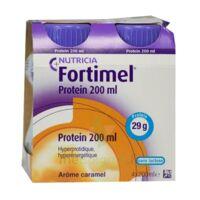 Fortimel Protein Nutriment caramel 4 Bouteilles/200ml à MONTPEZAT-SOUS-BAUZON