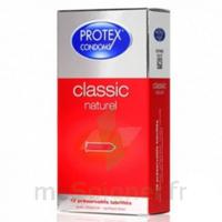 Protex Classic Naturel Préservatif avec réservoir B/12 à MONTPEZAT-SOUS-BAUZON