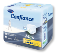 Confiance Men Slip absorbant jetable absorption 5 Gouttes Medium Sachet/14 à MONTPEZAT-SOUS-BAUZON